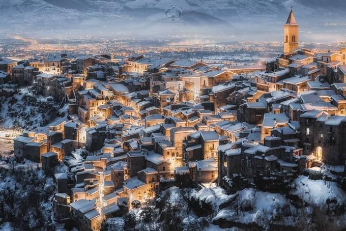 Pacentro - Winter Season by maurizioverdecchia - Social Exposure Photo Contest Vol 20
