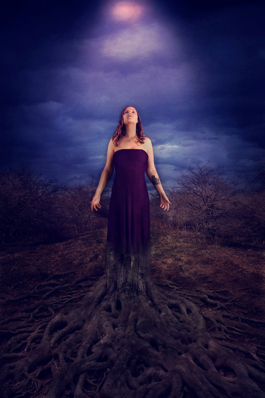 Grounded by nikkikebbertmulkern - Shades Of Purple Project