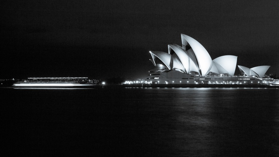 An amazing piece of architecture. The Sydney Opera House.
