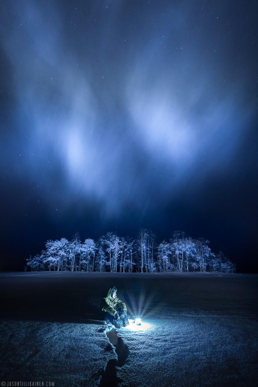 Jason Tiilikainen - Frosty Night by Jason_Tiilikainen - The Sky Photo Contest