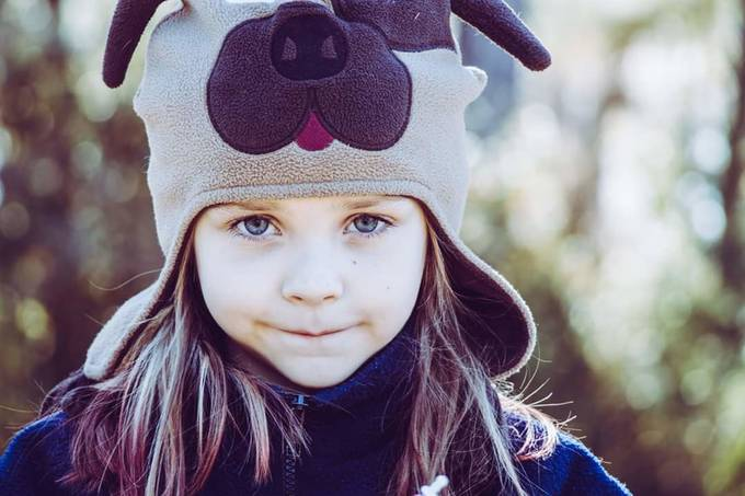 A cold winter day with beautiful blue eyes by jenniferroarkmccants - People With Bokeh Photo Contest