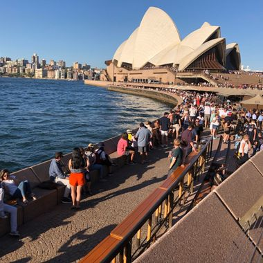 Harborside view of the Sydney Opera House!