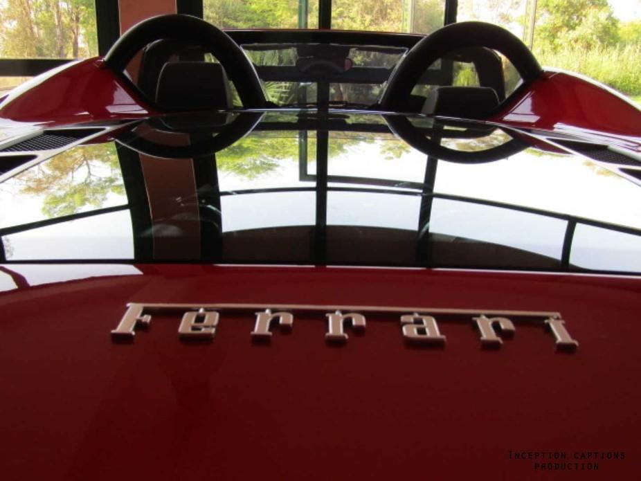 Red is danger #Ferrari