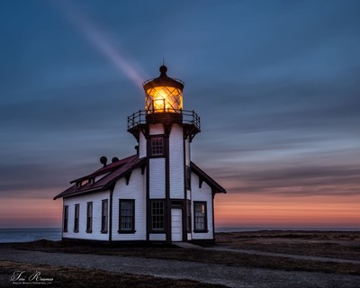 Finding The Light Cabrillo Lighthouse . . .