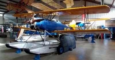 Fleet Model 2, CF-AOD, Floatplane, North Saanich, BCAM, 28 Jan 2019 (2)