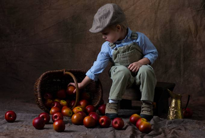 Apple Boy by Millar_Images - Monthly Pro Photo Contest Vol 48