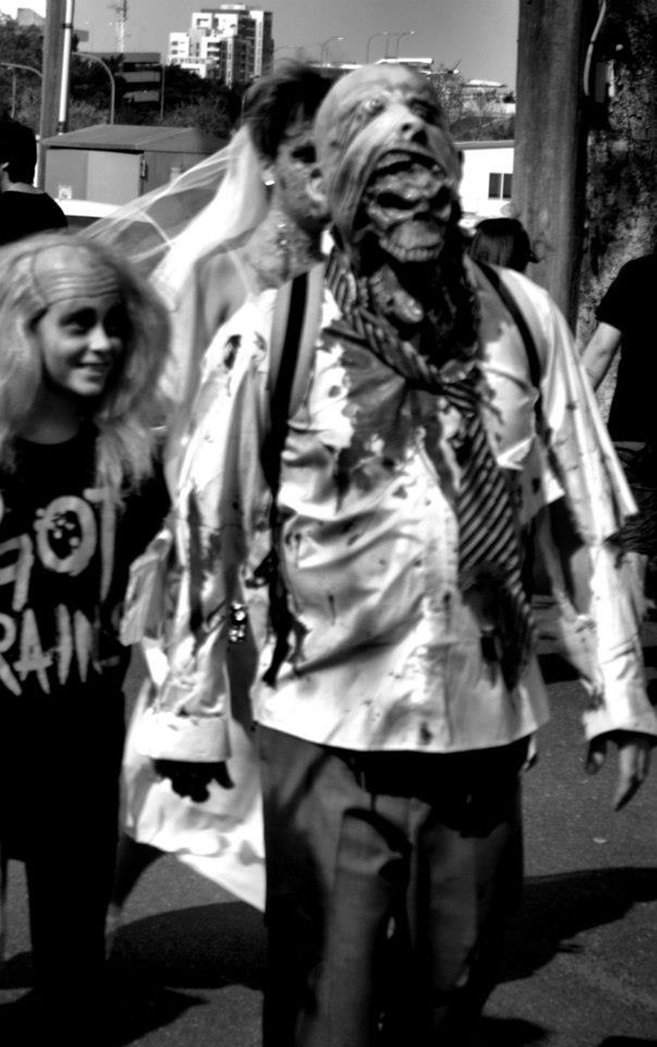 The  Brisbane Zombie Walk 2012! The zombies came out to play.
