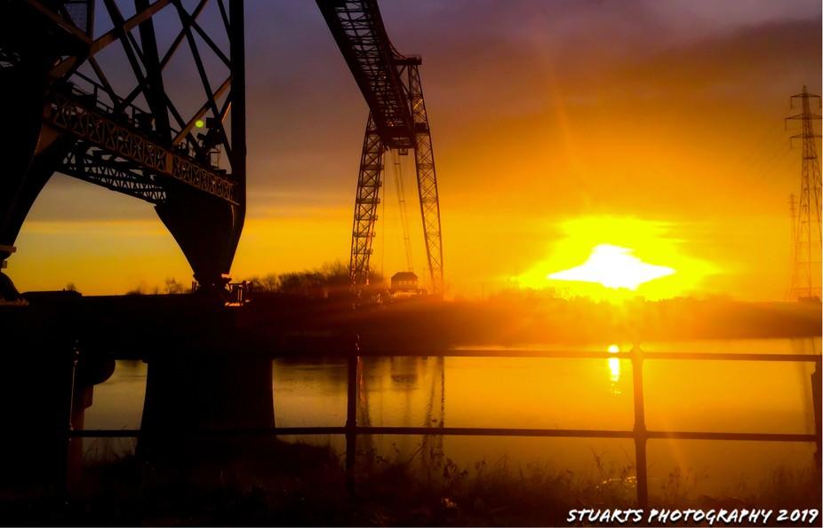 River Usk sunrise (1)