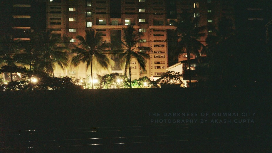 The darkness of mumbai city, photography by AKASH GUPTA