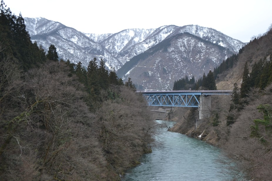 View seen while touring Japan