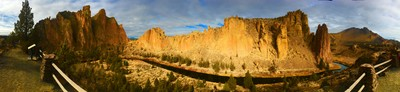Smith Rock State Park Panorama, Bend OR