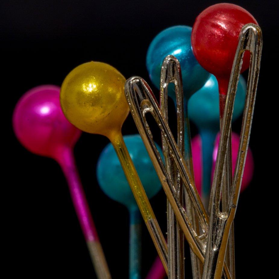 Pins and needles by EdWolski - Colorful Macro Photo Contest
