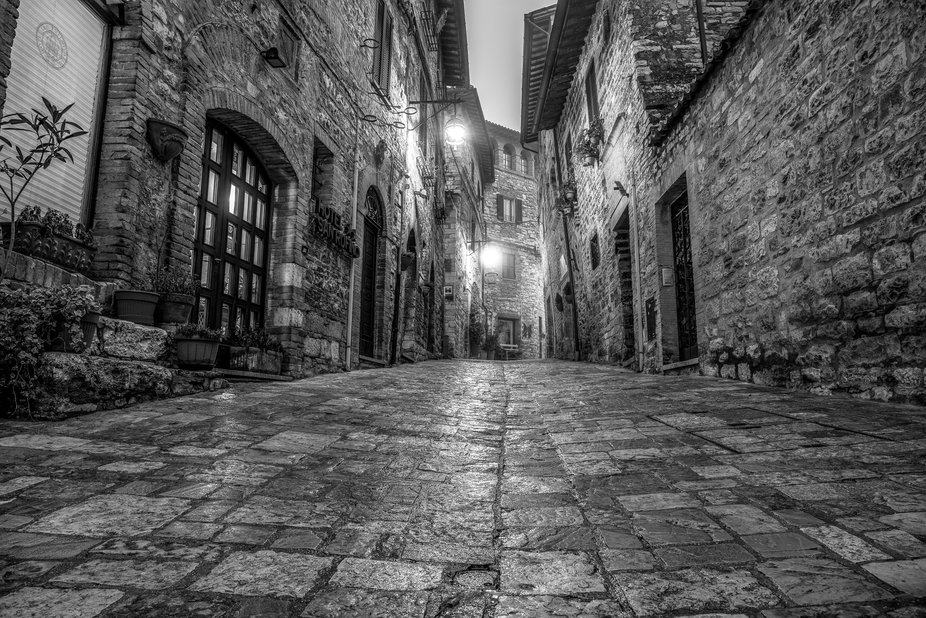 Street in Assisi, Italy