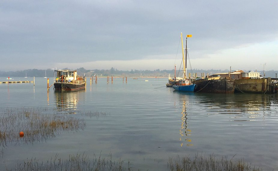 Morning at Pin Mill