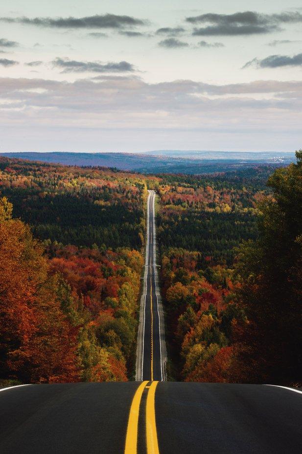 Autumn Road by vincentnaze - Image Of The Month Photo Contest Vol 42
