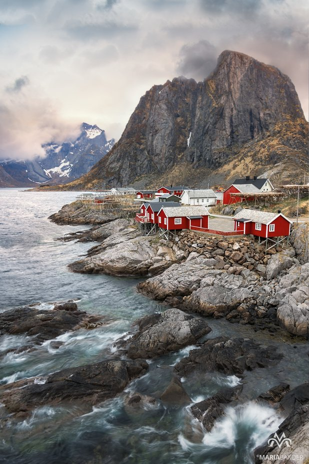 Red by MariaBander - Photogenic Villages Photo Contest