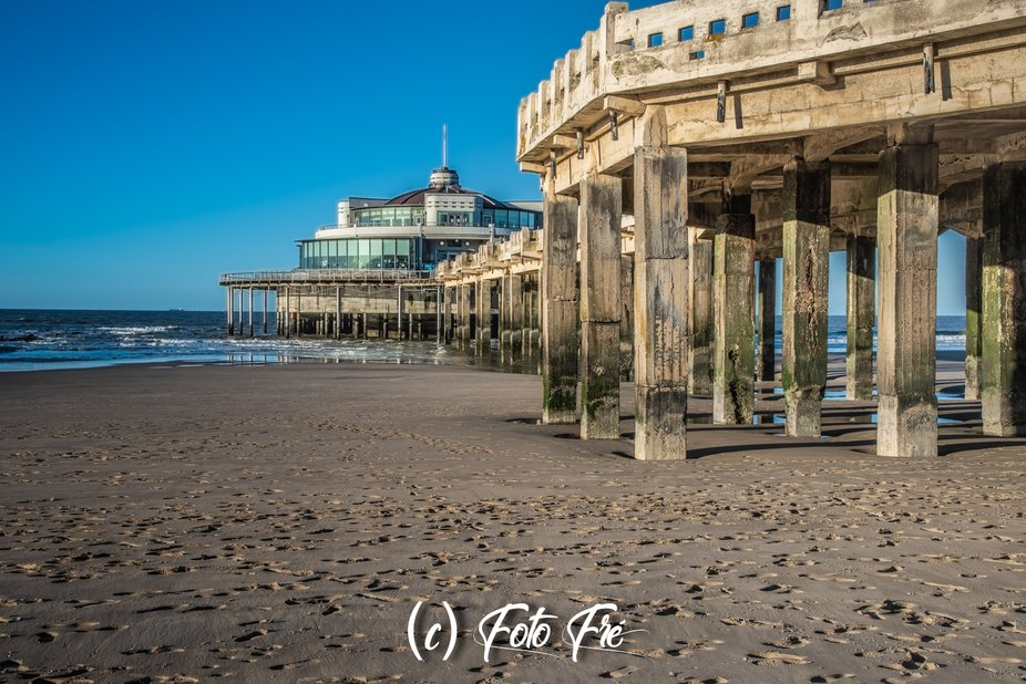 Photo of the Belgium Pier Blankenberge