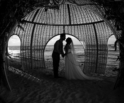 Wedding silhuette