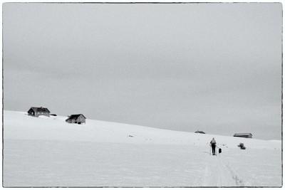 Skier at Vesleskag