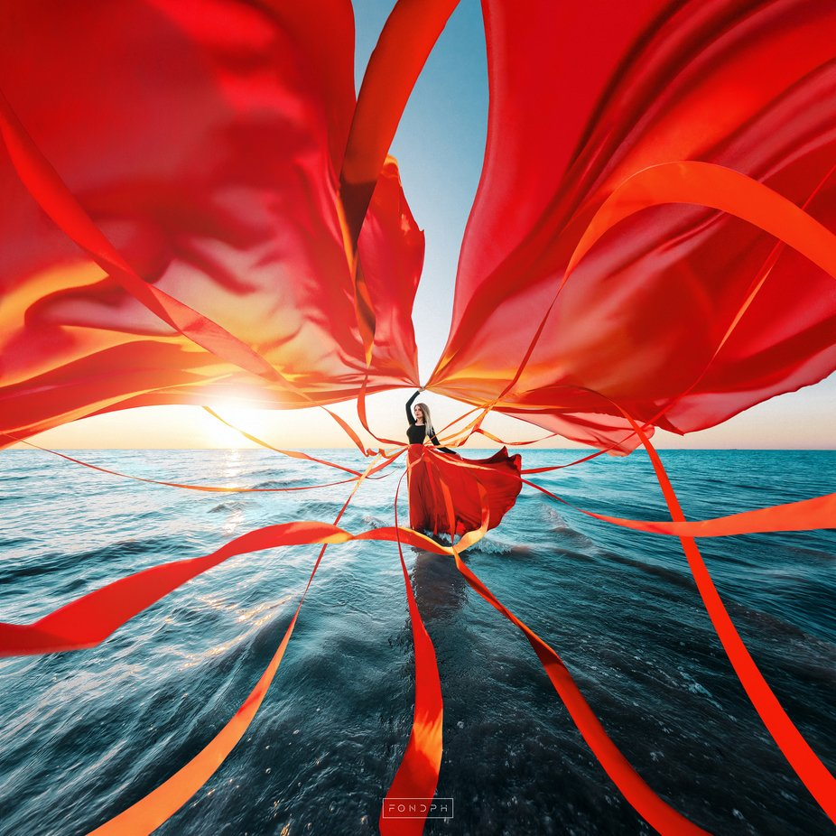 Assol by FONDphoto - Capture Red Photo Contest