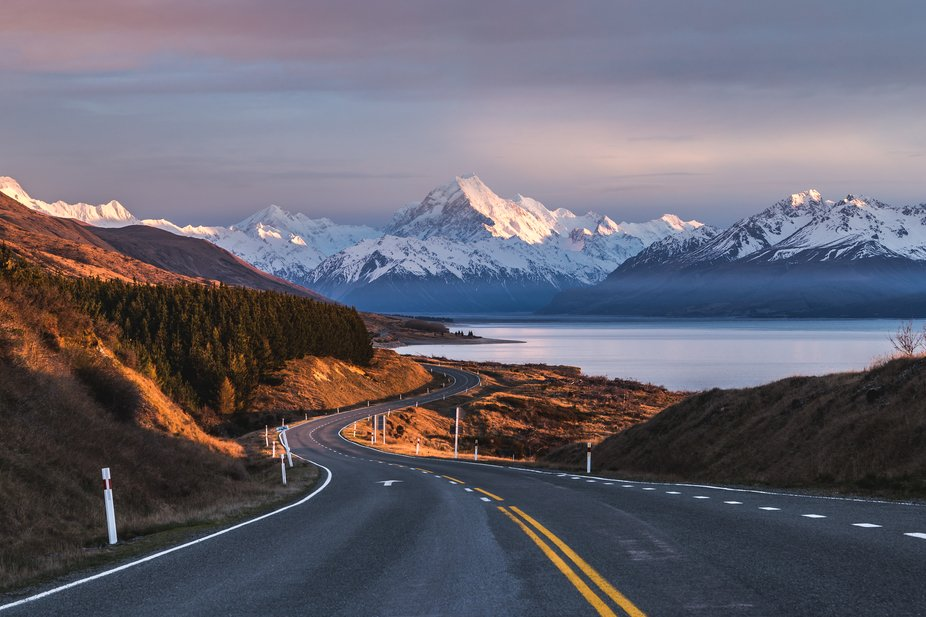 Taken on the road to Mt Cook.