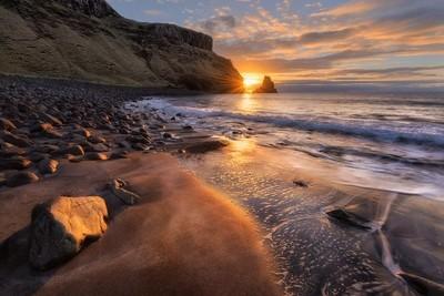 Talisker Beach sunset