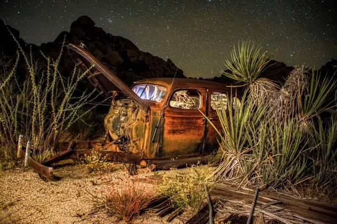 Vintage Under a Starry Night by Manifoldlm - Rusty Photo Contest