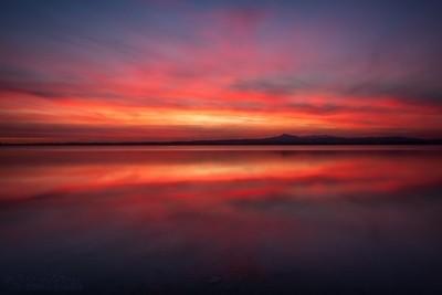 When The Sun Sets In Larnaca II