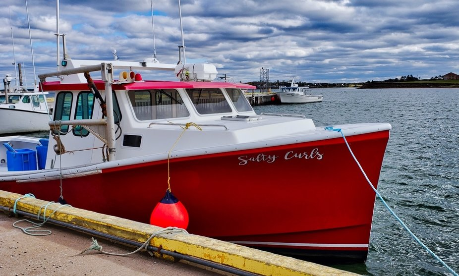 The Red Fishing Boat - PEI