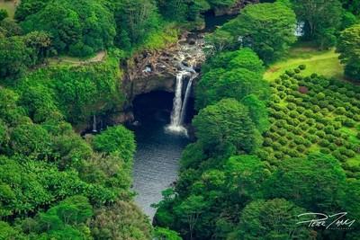 Above Rainbow Falls