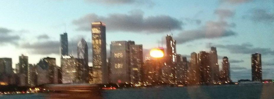 Moving Chicago Skyline