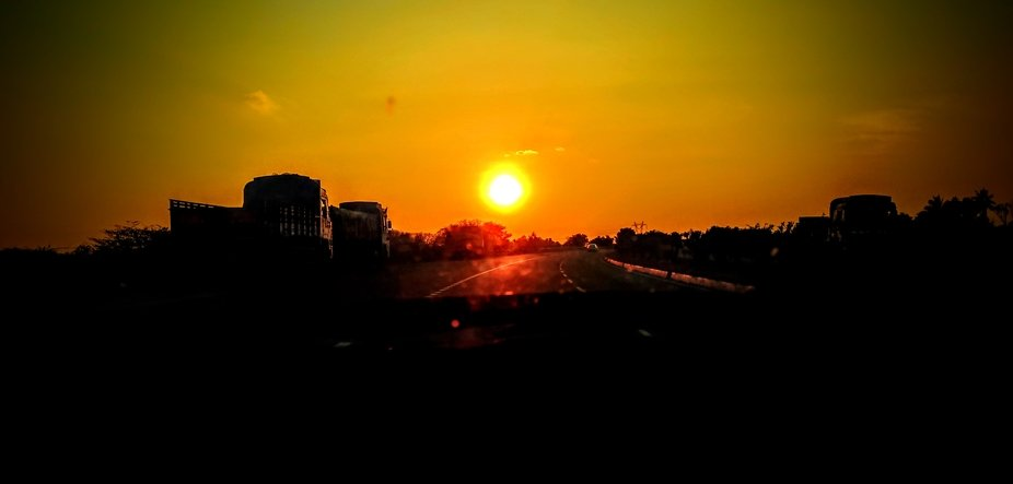 #Highway#Sunset#