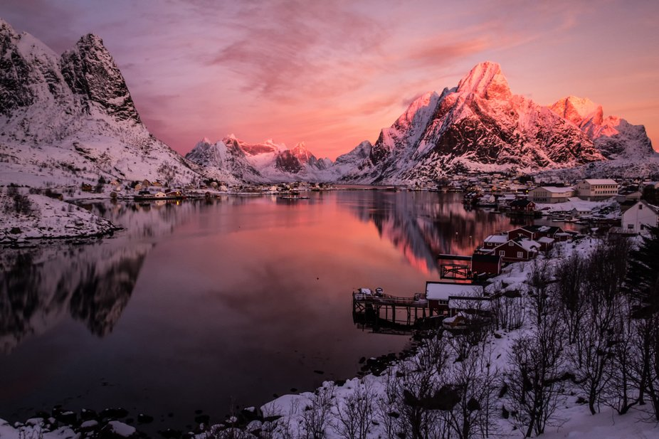 A spectacular sunrise that has remained in the heart