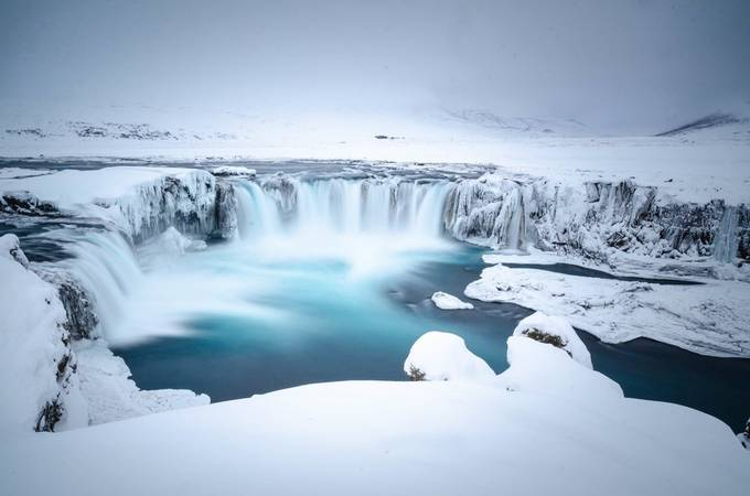 Godafoss Iceland 2019 by patsphoto - We Love The Winter Photo Contest
