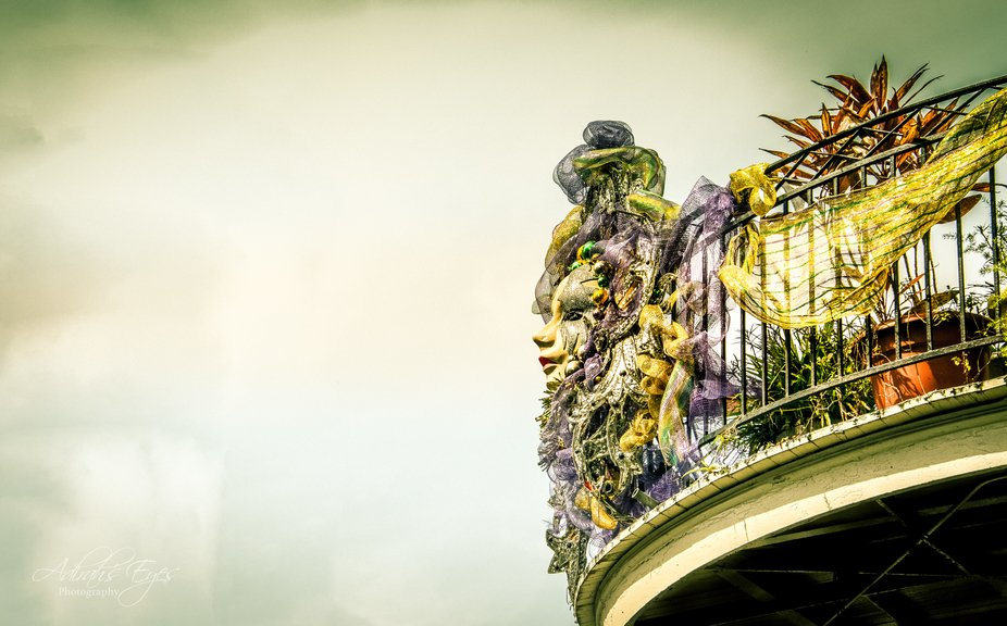 A shot from a recent visit to the French Quarter in New Orleans. This balcony shot is typical~ado...