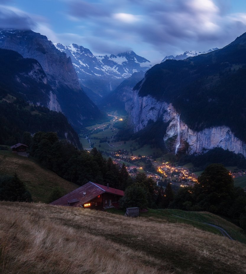 Lauterbrunnen is a village and a municipality in the Interlaken-Oberhasli administrative district in the canton of Bern in Switzerland.