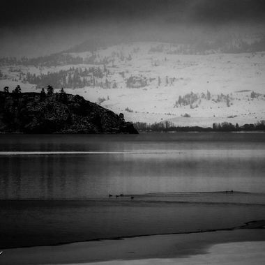 On a dark winter day