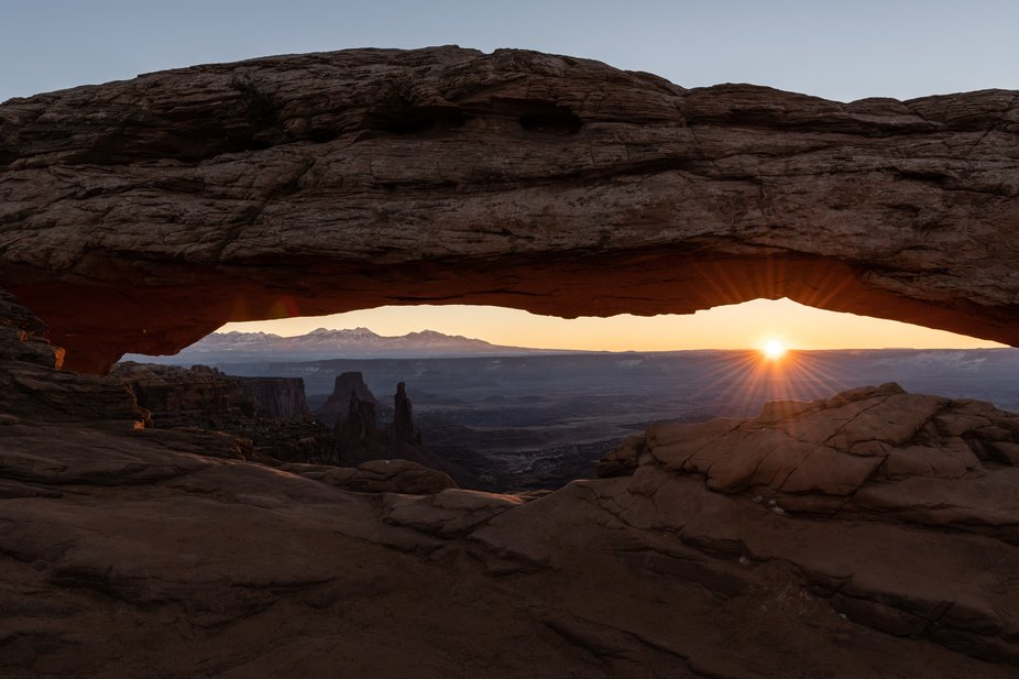Arch in Canyonlands NP