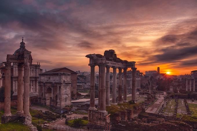 The sun rise over the empire  by antoniozarli - Social Exposure Photo Contest Vol 20