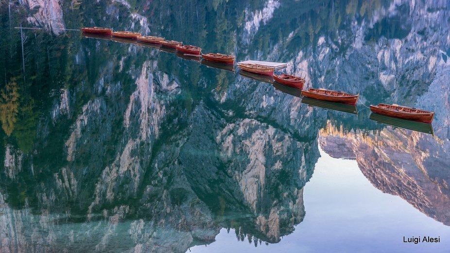 Braies lake - Dolomiti