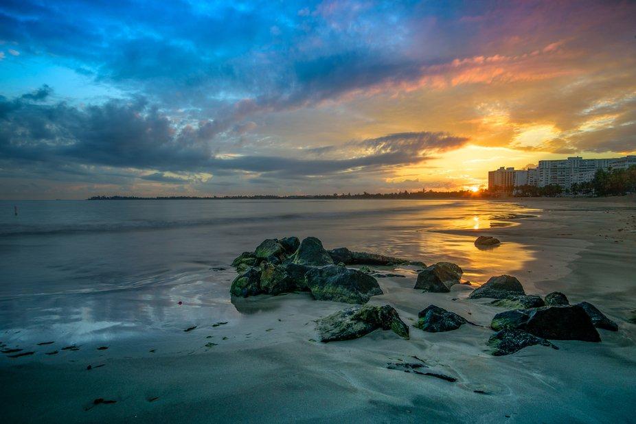 Sunrise San Juan Puerto Rico