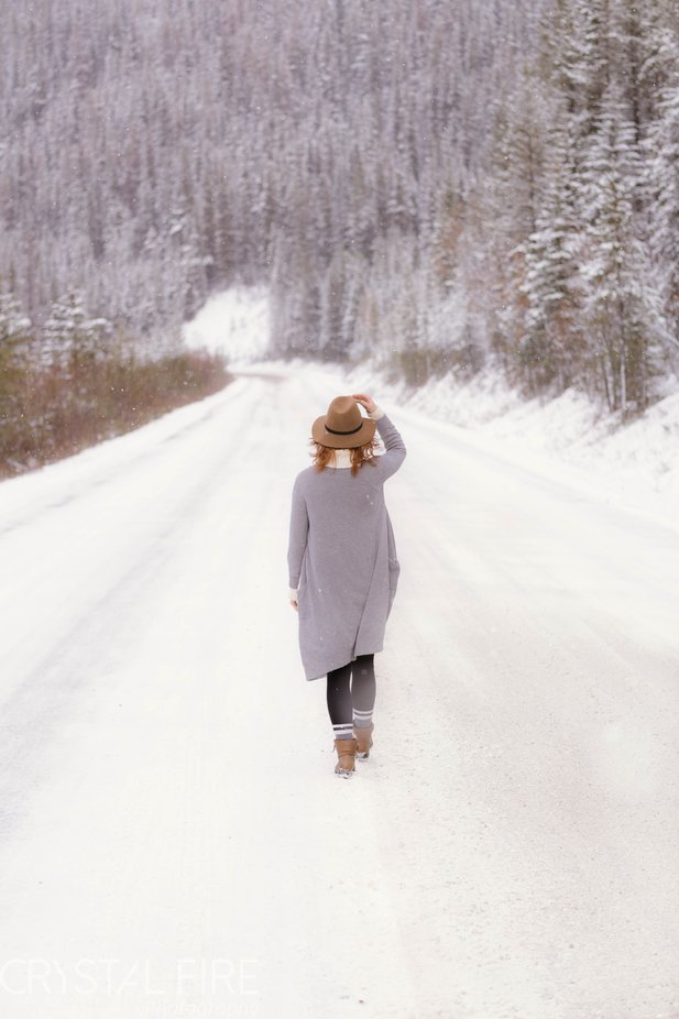 Mountain roads by Crystal-Fire-Photography - We Love The Winter Photo Contest