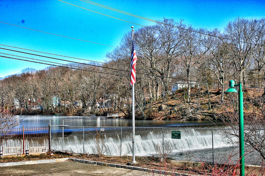 2019.02.09: Looking toward the Mianus River from East Putnam Avenue (US-1), Cos Cob, CT