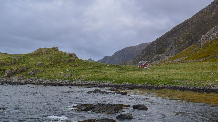 We were wandering in Norway. At Nyksund we saw this one which one was so far away. With its own. ...