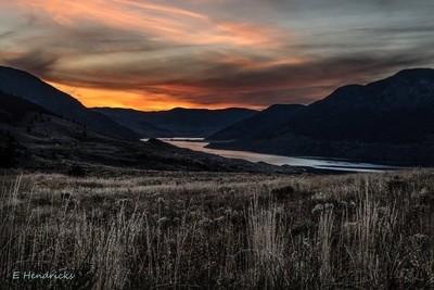 Nicola Lake Sunset