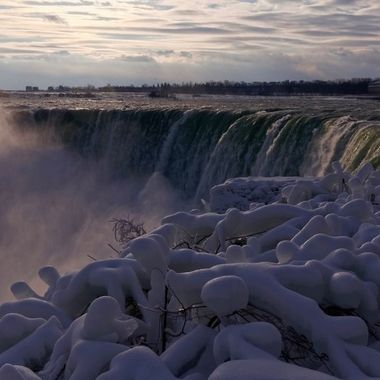 Winter Dawn at Niagara