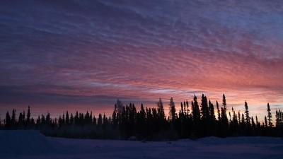 Sunrise near the Promised land