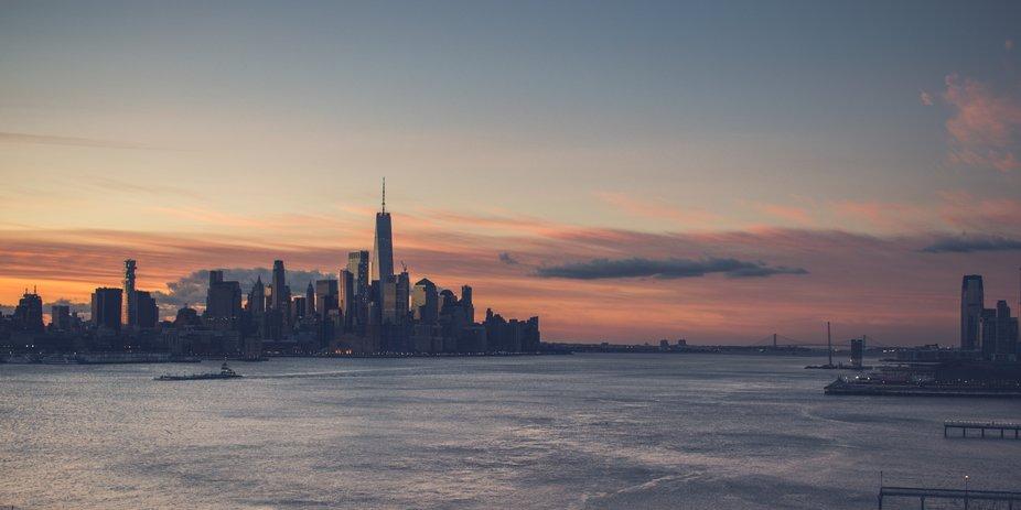 Hoboken Sunrise I