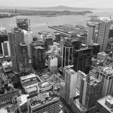 Downrown Auckland, and Auckland Harbor, NZ!