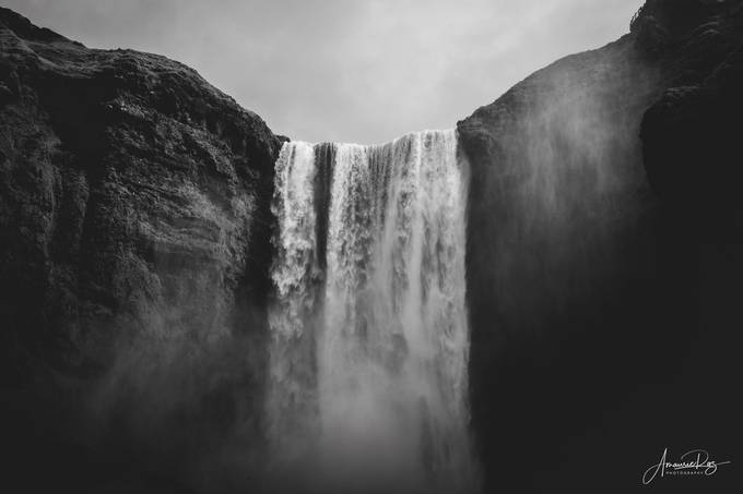 Iceland in monochrome - Skogafoss by amaurierazphotography - Social Exposure Photo Contest Vol 20